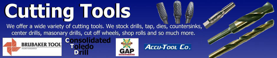 Quality taps, drill bits and other cutting tools made in the USA